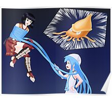 Squid Girl Crossover with RO TKD Poster