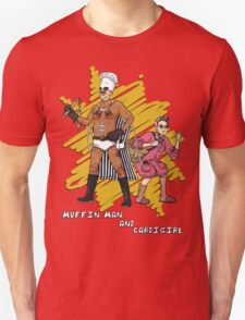 Muffin Man and Cardigirl Unisex T-Shirt