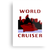 Being A World Cruiser Metal Print