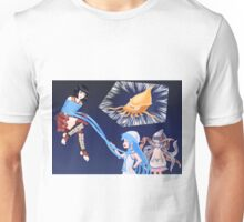 Squid Girl Crossover with RO TKD 2 Unisex T-Shirt