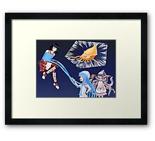 Squid Girl Crossover with RO TKD 2 Framed Print