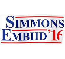 Simmons Embiid 2016 Poster