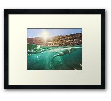 Meanwhile In Chios Framed Print