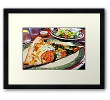 Calories?  What Calories? Framed Print