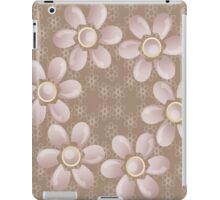Flowers for backgrounds iPad Case/Skin