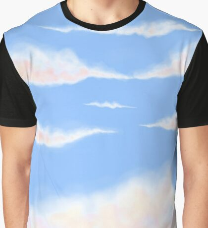 Cotton Candy Skies Graphic T-Shirt