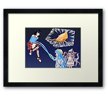 Squid Girl Crossover with RO TKD 3 Framed Print