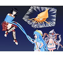 Squid Girl Crossover with RO TKD 3 Photographic Print