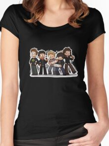 One Direction Women's Fitted Scoop T-Shirt