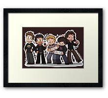 One Direction Framed Print