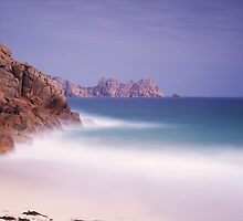 White Sands-Tropical Cornwall-Porthcurno by David-J