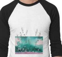 Deep Sea Background Men's Baseball ¾ T-Shirt