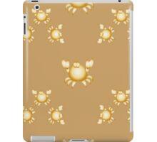 Golden crabs iPad Case/Skin