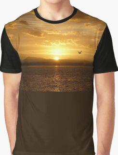 **Sun Rise Inspection Head*  Graphic T-Shirt