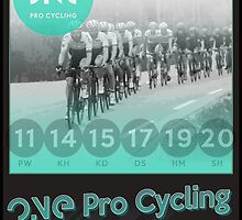 ONE Pro Cycling Tour of Britain Poster by Steven House