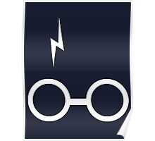 Harry Potter - Scar and Glasses Poster