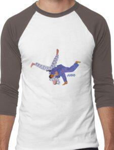 Judo  Men's Baseball ¾ T-Shirt