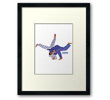 Judo  Framed Print