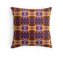 Hoverfly Pink (VN.84) Throw Pillow