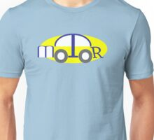 Car made of Letters from word Motor Unisex T-Shirt
