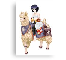 Ragnarok Online: Sura Riding Llama Canvas Print