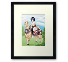Ragnarok Online: Sura Riding Llama vs2 Framed Print