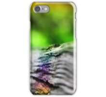 abstract wooden rail iPhone Case/Skin