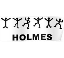 Sherlock Holmes Design Poster