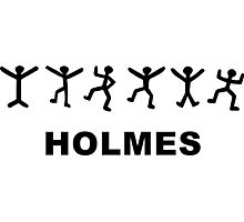 Sherlock Holmes Design Photographic Print