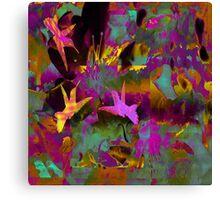 Tropical Colours A Duvet Covers Canvas Print