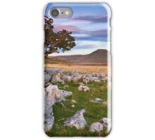 Across to Ingleborough iPhone Case/Skin