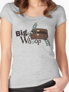 Big Whoop Women's Fitted Scoop T-Shirt