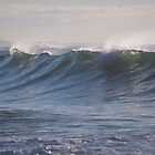 Beautiful waves by Les Bailey
