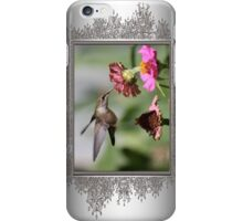 A Sip From a Zinnia iPhone Case/Skin