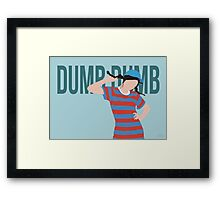 Red Velvet Joy - Dumb Dumb Framed Print