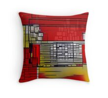 Point of Entry Throw Pillow