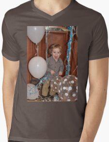 Too Much FUN Mens V-Neck T-Shirt