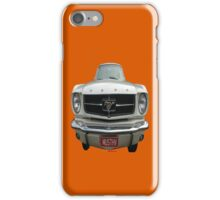 Mustang MUSTHV Car iPhone Case/Skin