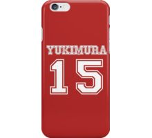 Yukimura 15 iPhone Case/Skin