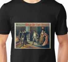 Performing Arts Posters Wm Gillettes Held by the enemy 2917 Unisex T-Shirt