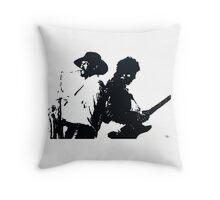 Bruce & Clarence 2 Throw Pillow