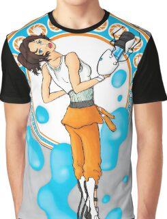 Chell Mucha Mashup Graphic T-Shirt