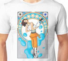 Chell Mucha Mashup Unisex T-Shirt