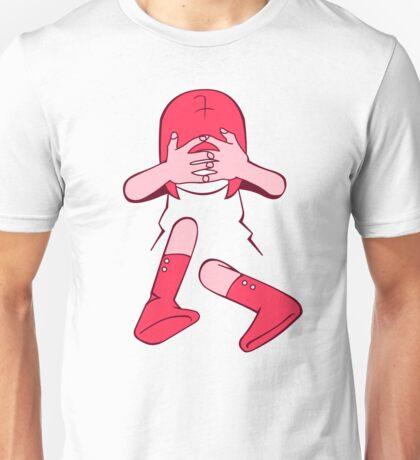 PeekaBoo Pink Unisex T-Shirt