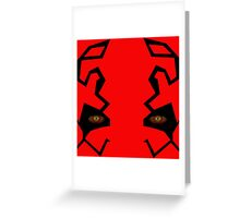 Darth Maul Recreation 1 Greeting Card