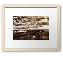 Glistening Sea  Framed Print