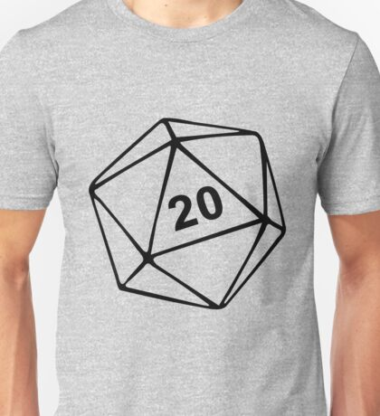 Dungeons & Dragons inspired Unisex T-Shirt