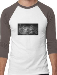 Smoky Totoro Men's Baseball ¾ T-Shirt