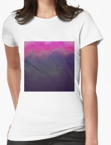 Inky Dusk Womens Fitted T-Shirt