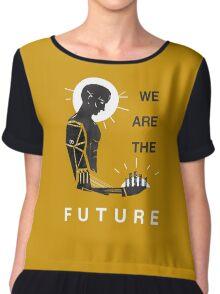 DEUS EX WE ARE THE FUTURE Chiffon Top